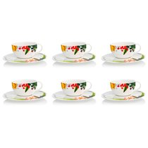"""Набор чашек чайных с блюдцем 250мл """"Фруктовый сад"""", 6 шт - Rosenthal"""