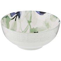Салатник-Тарелка Суповая Aquarelle 16 См Голубой, цвет голубой - Lianjun Ceramics