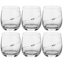 Набор Бокалов Для Виски/Воды Из 6 Штук Силуэт 380 мл - Diamante