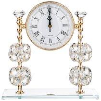 Часы Настольные Magic Crystal Циферблат 14.5 см 30x12x31 см - Claret di Annamaria Gravina