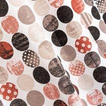 Ткань лонета Раунд спайс ширина 280 см/ 1889/2, цвет терракотовый - Altali