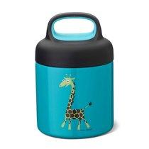 Термос для еды LunchJar™ Giraffe 0.3л бирюзовый, цвет бирюзовый - Carl Oscar