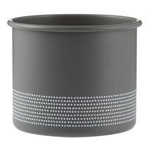 Горшок Monochrome 700 мл серый - Typhoon