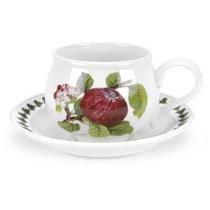 "Чашка для завтрака с блюдцем Portmeirion ""Помона.Красное яблоко"" 270мл - Portmeirion"