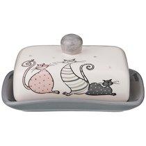 Масленка Коллекция Счастливое Семейство 17X12, 3X8, 2 см - Zhenfeng Ceramics