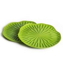 Подставки под бокалы 2 шт Lotus зеленый - Qualy