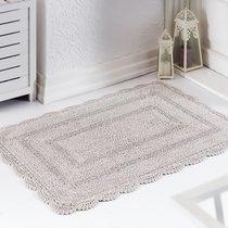 Коврик для ванной Evora, кружевной, цвет коричневый, 60x100 - Bilge Tekstil
