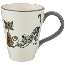 Кружка Коллекция Озорные Коты 350 мл 13x9x11 см - Hongda Ceramics