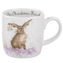 """Кружка 310мл """"Рождественский поцелуй"""" (кролик) - Royal Worcester"""