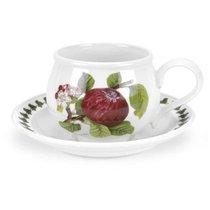 """Чашка чайная с блюдцем Portmeirion """"Помона.Красное яблоко"""" 200мл - Portmeirion"""