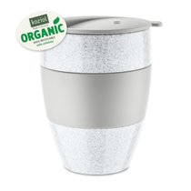 Термокружка AROMA TO GO 2.0 Organic, 400 мл, серая - Koziol