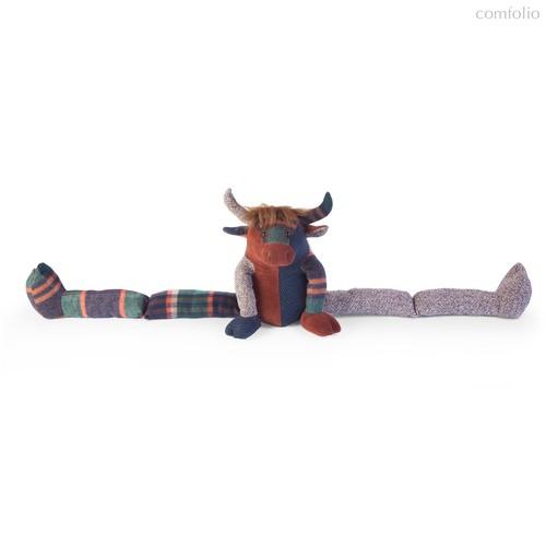 Синьор Горный бык из лоскутков 84 см - Dora Designs