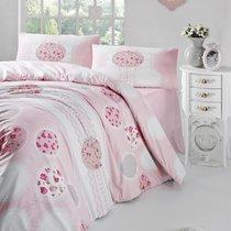 Постельное белье Ranforce Belin, цвет розовый, размер Евро - Altinbasak Tekstil
