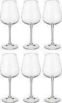 Набор бокалов для вина из 6 шт. AMUNDSEN/ARDEA 450 мл ВЫСОТА 23 см - Crystalite Bohemia