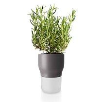 Горшок для растений с функцией самополива D11 см серый - Eva Solo