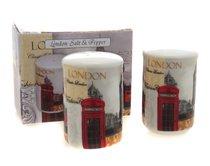 Новый Лондон Солонка и перечница 7 cм - The Leonardo Collection