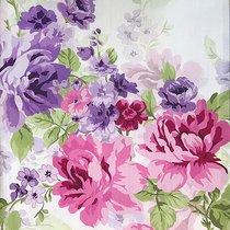 Ткань хлопок купоны Сиреневое поле ширина 220 см, 2005/2, цвет сиреневый - Altali