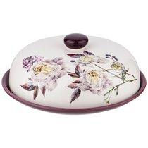 Блюдо Для Блинов Пурпур 23x23 см Высота 10 см - Huachen Ceramics