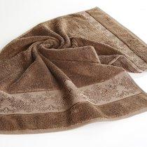 Полотенце бамбуковое Karna Pandora-3, цвет коричневый, 50x90 - Bilge Tekstil