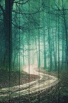 Зеленый лес 60х90 см, 60x90 см - Dom Korleone