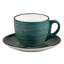 Чайная пара серия Texture фарфор PL Proff Cuisine - P.L. Proff Cuisine