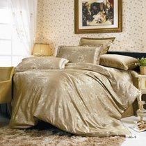 Комплект постельного белья JC-09, цвет бежевый, Семейный - Valtery