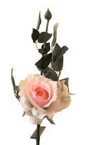Роза Лимбо с почкой розовая 30 см живое прикосновение (36 шт.в упак.) - Top Art Studio