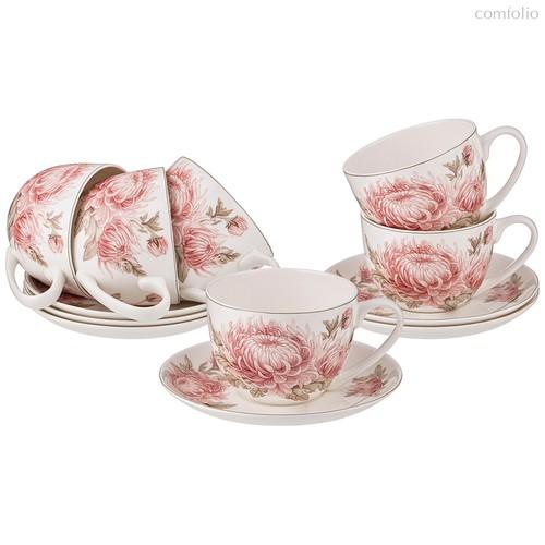 Чайный Набор Lefard Астра На 6Пер. 12Пр. 330 мл - Shanshui Porcelain