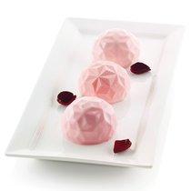 Форма для приготовления пирожных Mini Gemma 18 х 34 см силиконовая - Silikomart
