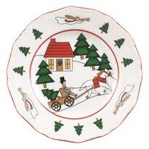 Тарелка 15 см Рождественская деревенька - Mason's