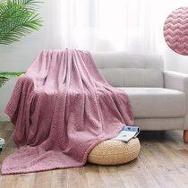 """Плед Cleo """"Royal plush"""" велсофт полуторный 150*200 150/015-RP, цвет розовый, 150 x 200 - Cleo"""