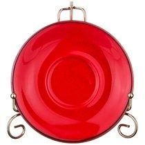 Блюдце Seasons Большое Для Кофейной Чашки 16 см Цвет Красный - Porland