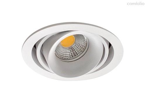 Donolux Lumme Светильник встраиваемый, MR16, макс.50Вт, GU10, IP20, Белый/черный, D110х95 мм, без ла - Donolux
