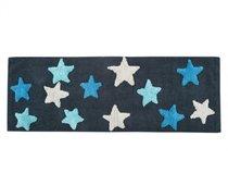 STAR Mavi (голубой) Коврик для ванной, 50x150 - Irya