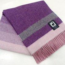 Плед INCALPACA (55% шерсть альпака, 45% шерсть мериноса) PP-51, цвет фиолетовый, 150 x 200 - Incalpaca TPX