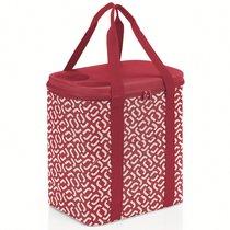 Термосумка Coolerbag XL signature red - Reisenthel