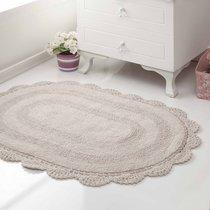 Коврик для ванной Diana, кружевной, цвет коричневый, 50x80 - Bilge Tekstil