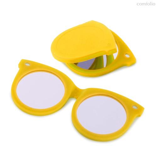 Зеркальце Shades желтое, цвет желтый - Balvi