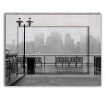 Нью-Йорк в тумане 35х45 см, 35x45 см - Dom Korleone