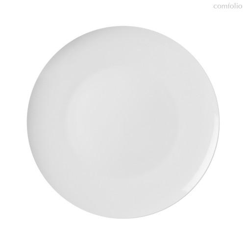 Тарелки безбортовые 25,4 см, цвет белый - Top Art Studio