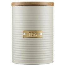 Емкость для хранения чая Otto кремовая 1,4 л - Typhoon