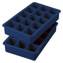 Набор форм силиконовых для льда Tovolo лед 3см, 18х11х4см, 2шт (синий) - Tovolo