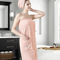 """Набор для сауны """"KARNA"""" женский махровый ARVEN 1/2, цвет абрикосовый, 70x150 - Bilge Tekstil"""
