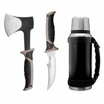3пр набор походный Essentials, цвет черный - BergHOFF