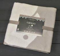 Светло-серый Слоник 57-8ЕТЖ Премиум 100х140 100% х/б Байковое жаккард Ермолино одеяло - Ермолино