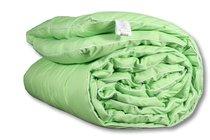 """ОМБ-22 Одеяло """"Микрофибра-Бамбук"""" 200х220 классическое-всесезонное, цвет салатовый - АльВиТек"""