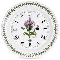 """Часы настенные Portmeirion """"Ботанический сад. Гвоздика турецкая"""" 25см - Portmeirion"""