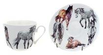 Моя лошадь/Чайная пара для завтрака 500мл - Roy Kirkham