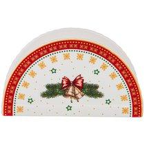 Салфетница Christmas Collection, Длина 12 см - Jinding