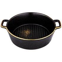 Салатник С Ручками Bronco Midnight Gold 20 см - Towin Ceramics
